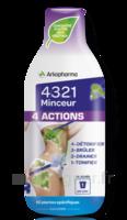 4321 Minceur 4 Actions Solution buvable Fl/280ml à RAMBOUILLET