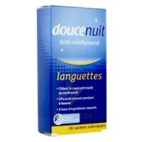 DOUCENUIT ANTIRONFLEMENT LANGUETTES, sachet 28 à RAMBOUILLET
