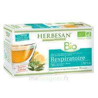 Herbesan Thym bio Tisane respiratoire 20 Sachets à RAMBOUILLET
