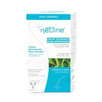 Netline Crème visage/corps décolorante peau sensible 30+30ml à RAMBOUILLET
