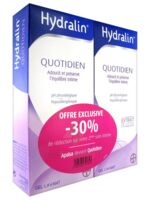 Hydralin Quotidien Gel lavant usage intime 2*200ml à RAMBOUILLET