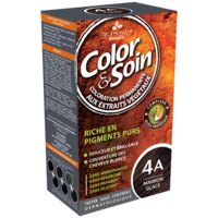 COLOR&SOIN Kit coloration permanente 4A marron glacé à RAMBOUILLET